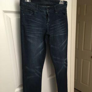 Delia pencil denim jeans
